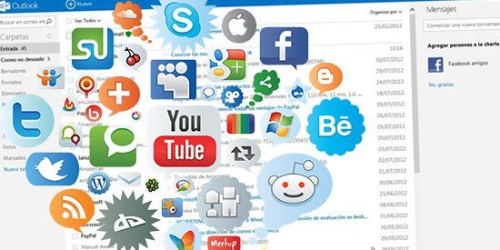 Conoce el complemento de Outlook.com para manejar tus redes sociales