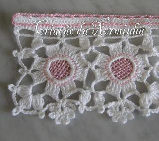Flor Colorida em Crochê -  /  Colorful Flower Crochet -