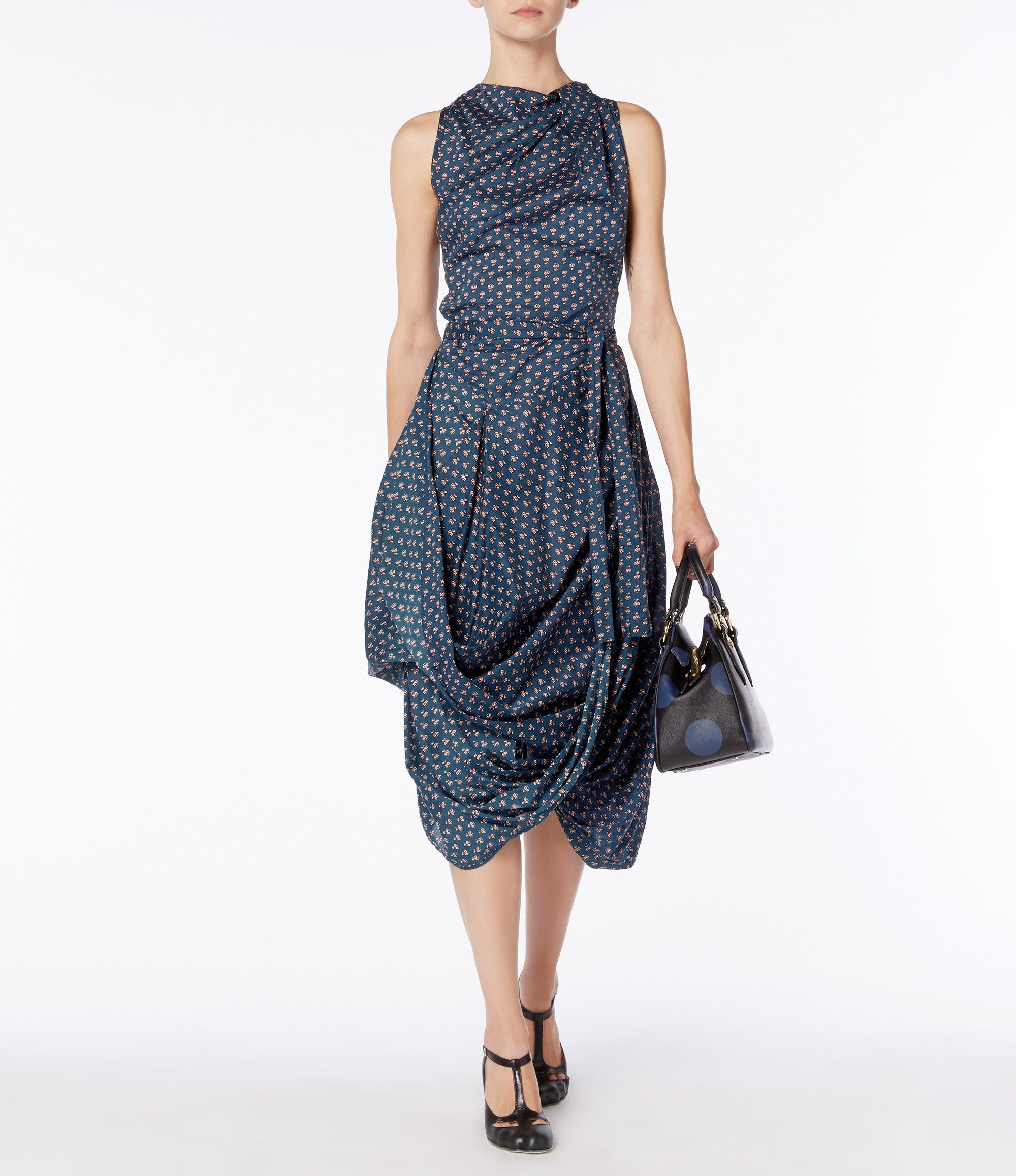 Dress for Women, Evening Cocktail Party On Sale, Anglomania, Grey, Viscose, 2017, 8 Vivienne Westwood