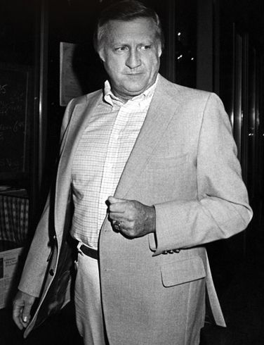 George Steinbrenner grew up in Ohio, and came to love the pinstripes of the New York Yankees.  After a stint in the Air Force, Steinbrenner went through the physical education program at The Ohio State University where he completed a master's degree and worked with the Rose Bowl-winning squad of the Buckeyes football team.  After buying the Yankees for 10 million in 1973, he transformed them into a billion-dollar juggernaut winning 11 AL pennants and 7 World Series on his watch.