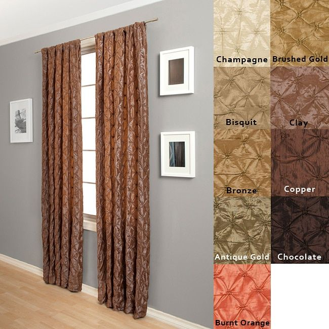 Softline Zanzibar Rod Pocket 120 Inch Curtain Panel By Softline