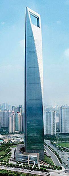 World Financial Centre, Shanghai | UNIQUE ARCHITECTURE ...