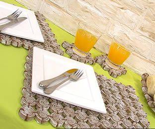 Individuales para la mesa individuales de mesa - Individuales para mesa ...