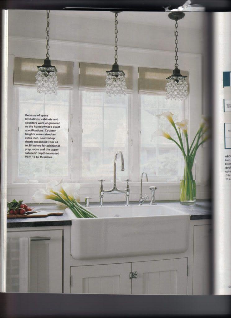 Kitchen Lighting Farm Sink Home Decor Kitchen