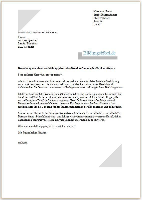 Bewerbungsschreiben Englisch - Vorlage Und Muster - Cover Letter