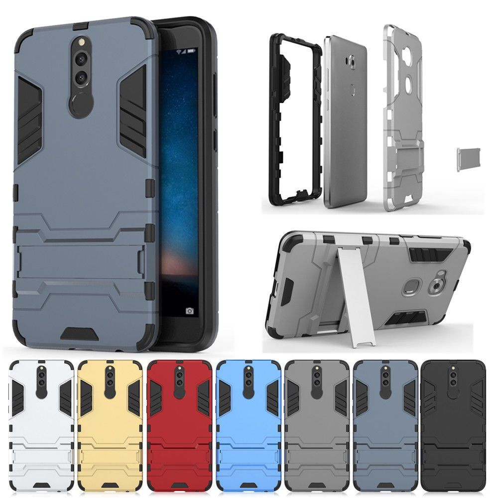 3 59AUD - Stand Hard Armor Hybrid Silicone Case Cover Shockproof For