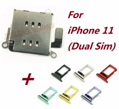 The easiest way to check if iphone 11 is permanently unlocked is by inserting a different simcard (from different networks). Lot Oem Dual Sim Card Reader Holder Slot Module Flex Sim Tray For Iphone 11 Ebay Dual Sim Iphone Repair Dual Sim Phones