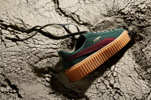 The New Fenty Puma Rihanna Creepers Are Here -- Her brightly colored  creepers and fur slides both sold out 7ebfdeb455