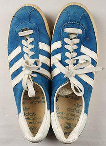 sale retailer 49d70 b6e49 1970s Adidas Gazelle suede sneakers Size 7.5