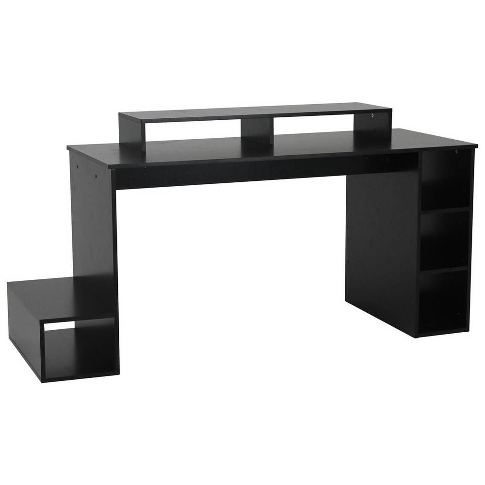 Buy Argos Home Gaming Desk - Black | Desks #gamingdesk