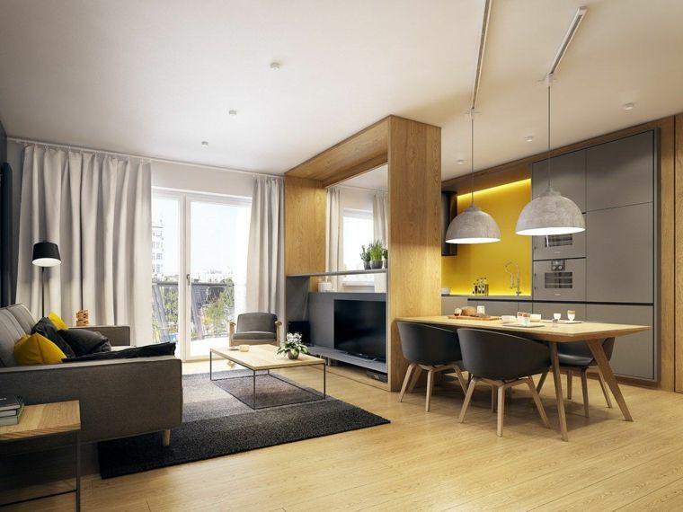 1001 Idee Per Cucina Open Space Dove Funzionalita E Comfort Si