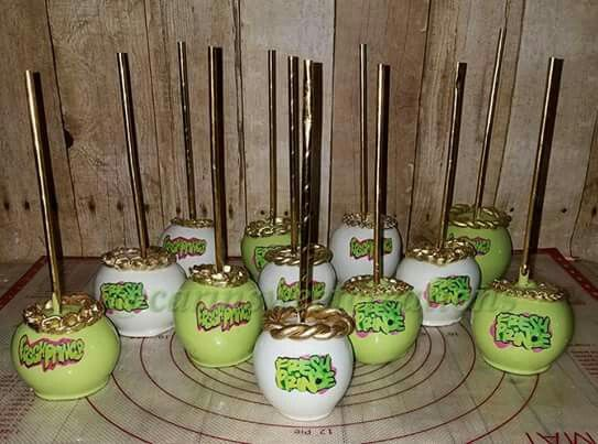 Fresh Prince Of Bel Air Theme Cake Pops Prince Baby Shower Theme
