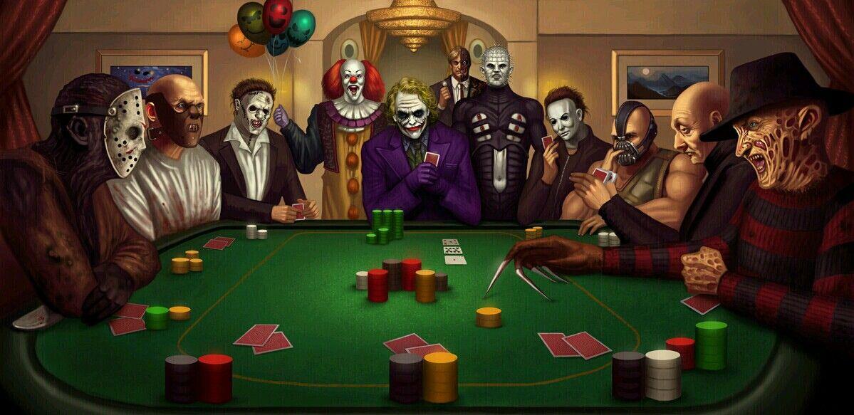 Тему учеба, смешная картинка покер