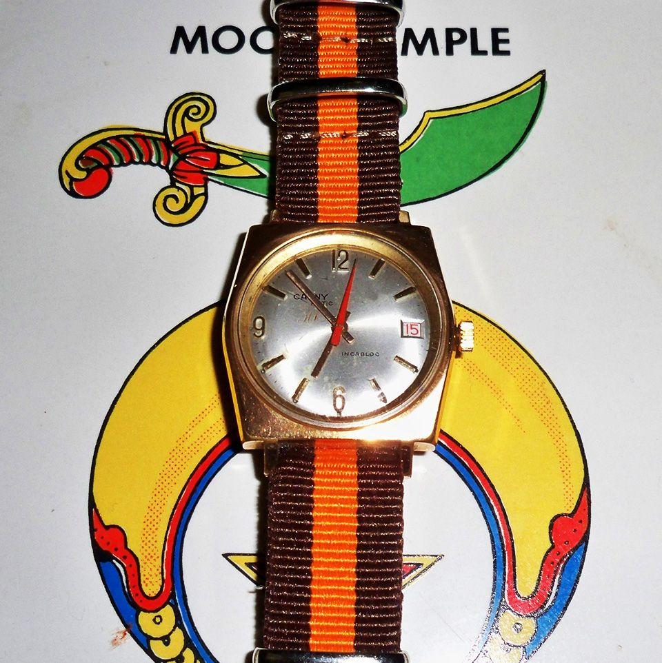 26eca16e7abe Cauny Prima 30 Jewel Automatic w Date PIT 1957 (Happy 30th! Cauny Prima)