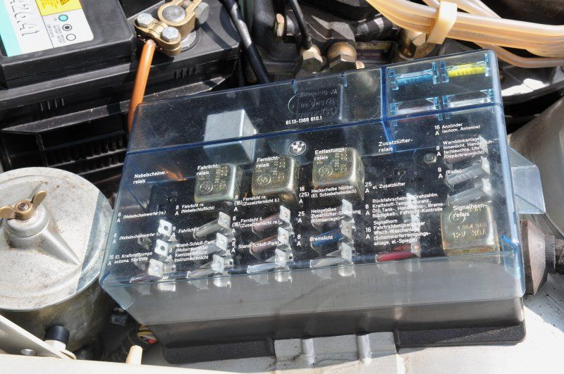 E34 Fuse Box