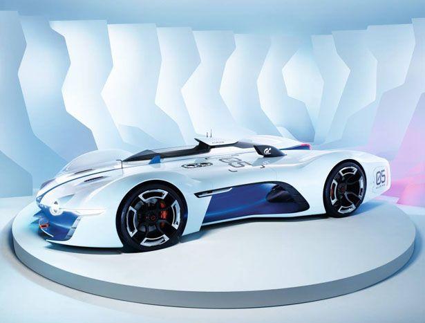 Alpine Vision Gran Turismo Alpine Vision Renault Alpine Futuristic Cars
