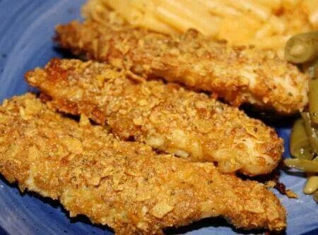 Yummy crusted chicken