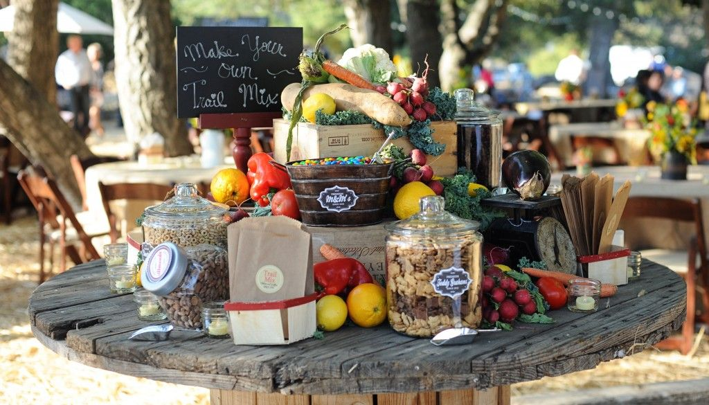 Trail Mix Bar DIY : Perfect for Weddings and Parties