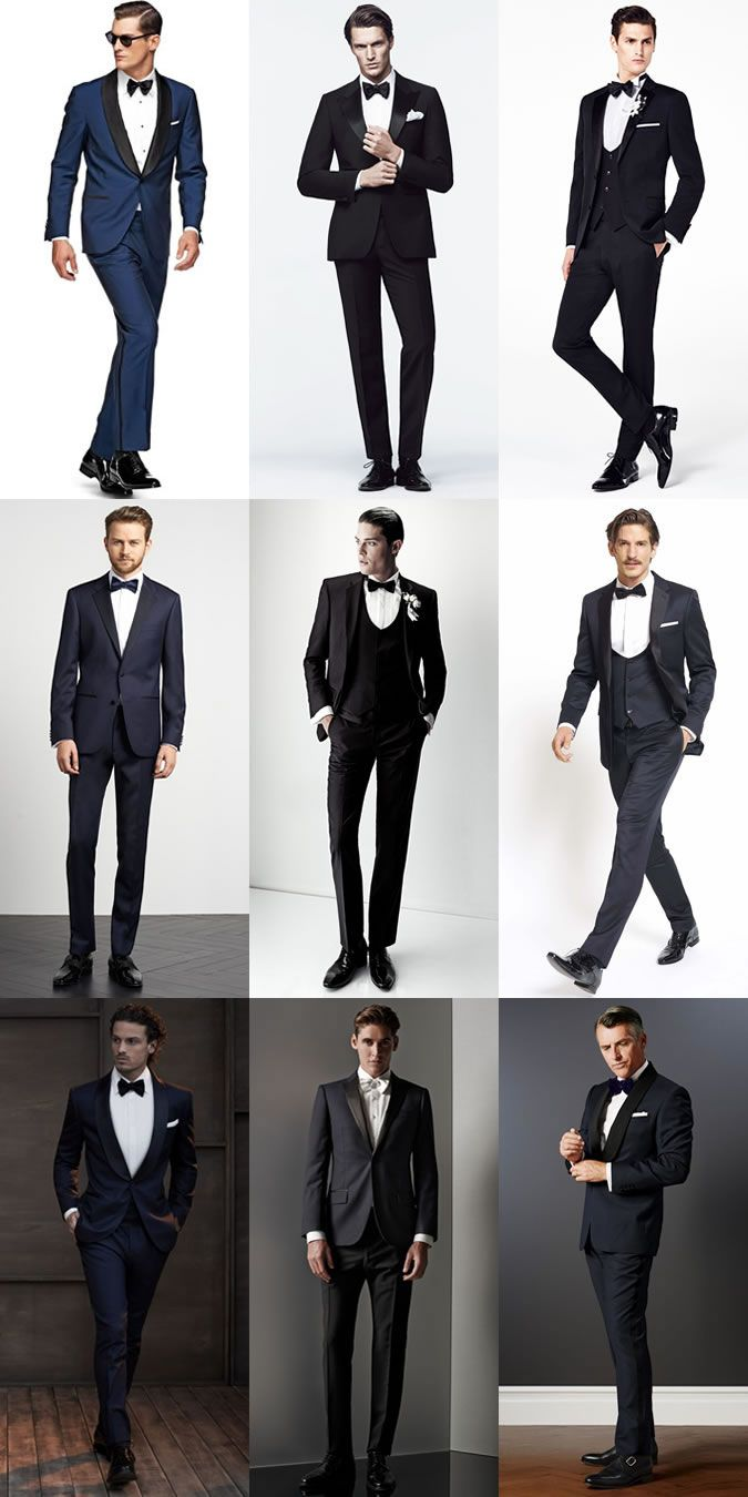 Men\'s Wedding/Groom Outfit Inspiration Lookbook - Tuxedos and Dinner ...
