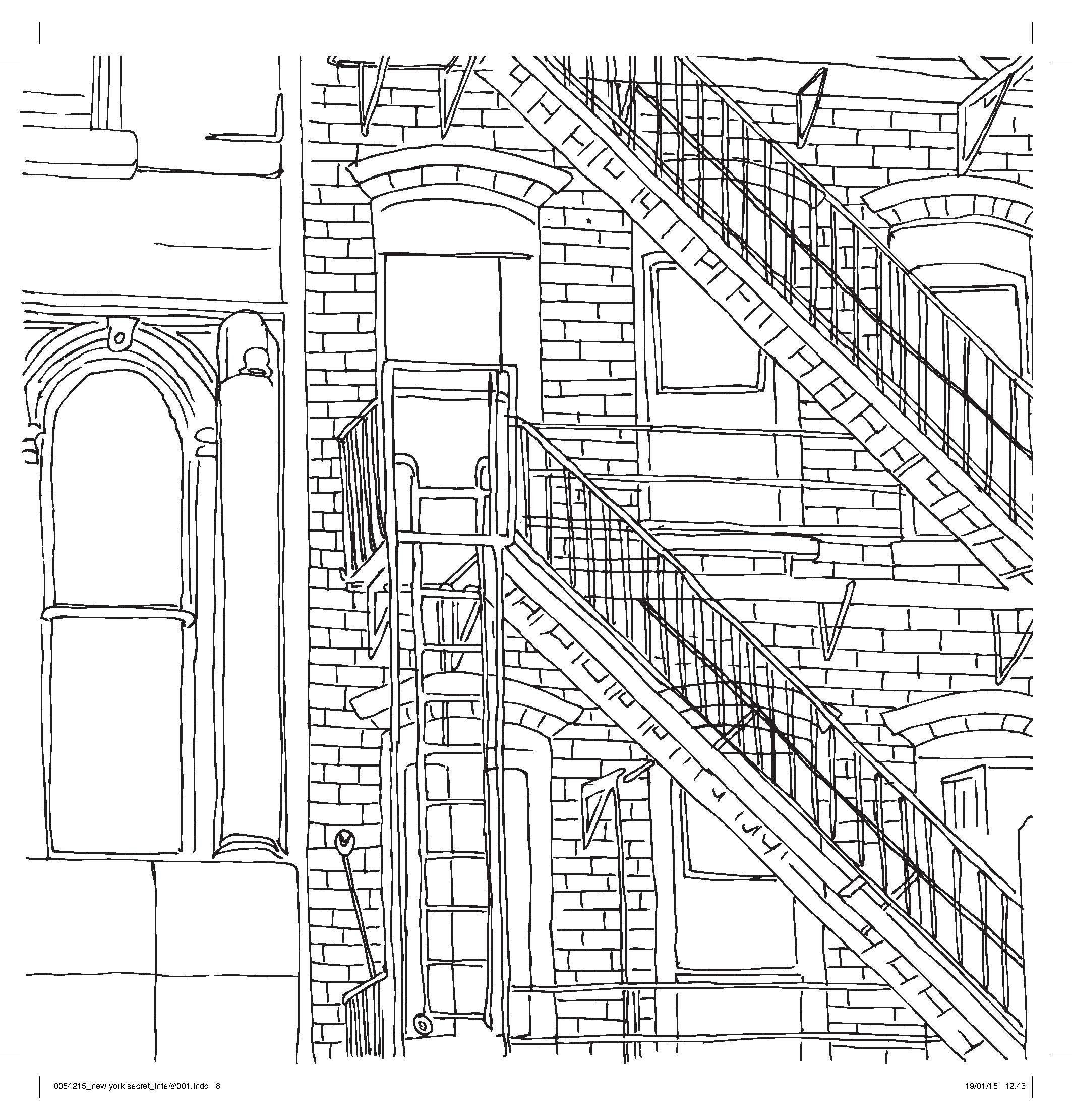 new york coloring pages # 15