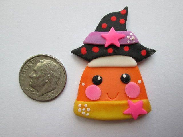 Needle Minder ~ Candy Corn Cutie! (Clay)