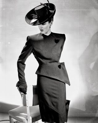 - lose the hat and I would definitely wear this outfit! Those Fabulous Forties Suit Patterns!