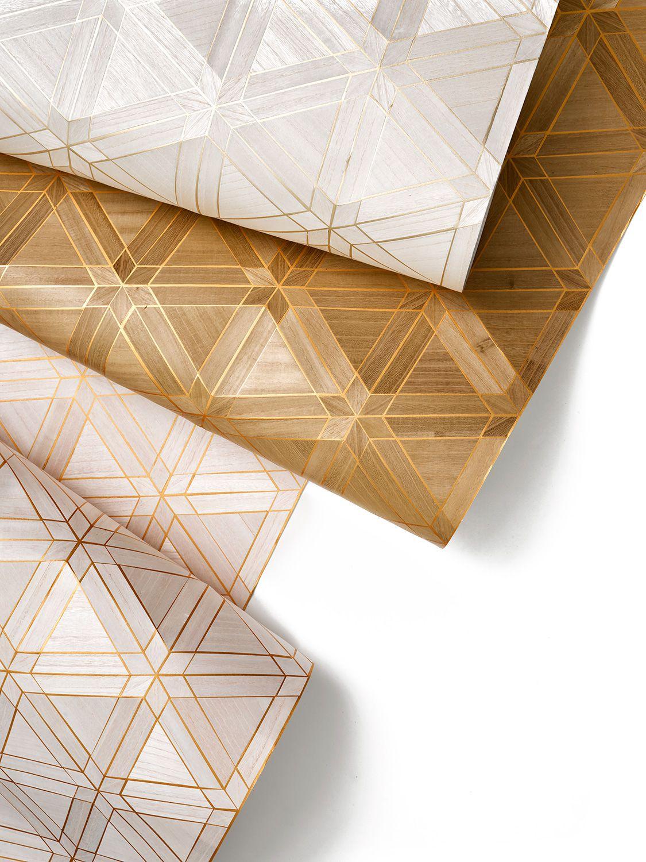 Facet Wallcovering By Innovations Wood Veneer Wallpaper Wood Walls Interior Design Inspo Wallpaper D Wall Coverings Wallcovering Pattern Wood Wallpaper