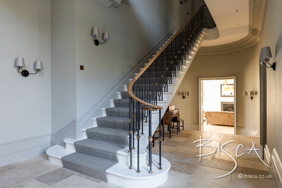 Best Classic Georgian Staircase Design Godalming Interior 400 x 300