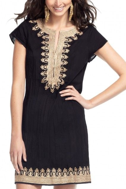 Ro Embroidered Dress