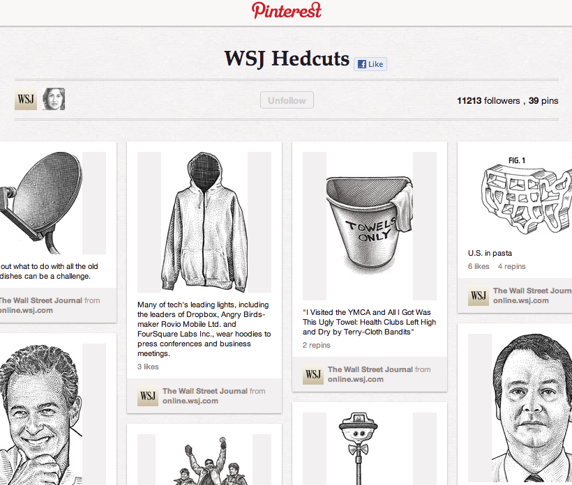 pinterest analysis pbs usa today engage with readers on wall street today id=31702