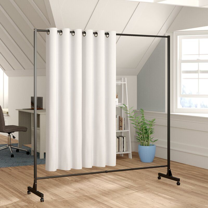 Dorland 1 Panel Room Divider In 2020 Room Divider Ideas Bedroom