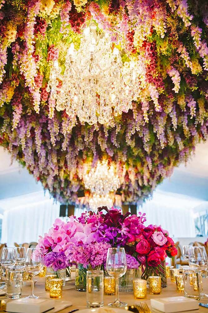 30 Ideas For Decorating Your Wedding Venue With Flowers | Wedding ...