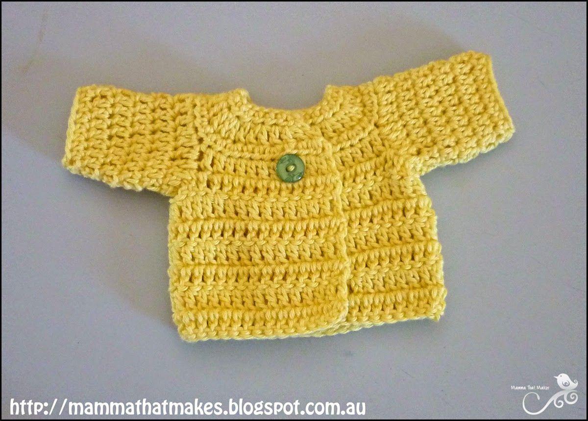 Mamma That Makes: Free Crochet Pattern | bebes | Pinterest | Preemie ...