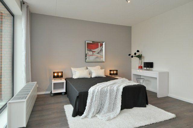 décoration-chambre-coucher-adulte-blanc-noir.jpg (640×425 ...