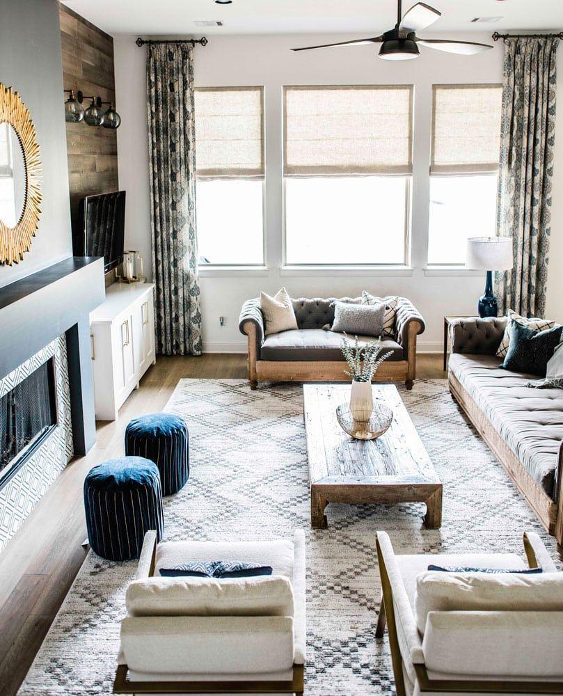 Living Room Refresh   Austin interior design, Living room ...