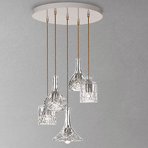 Lee broom decanter chandelier dining table lightingceiling