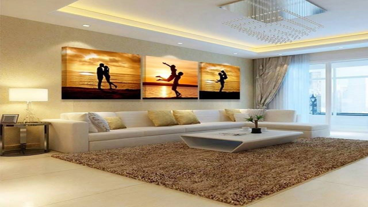 Decorative paintings for drawing room | wall art for living ...