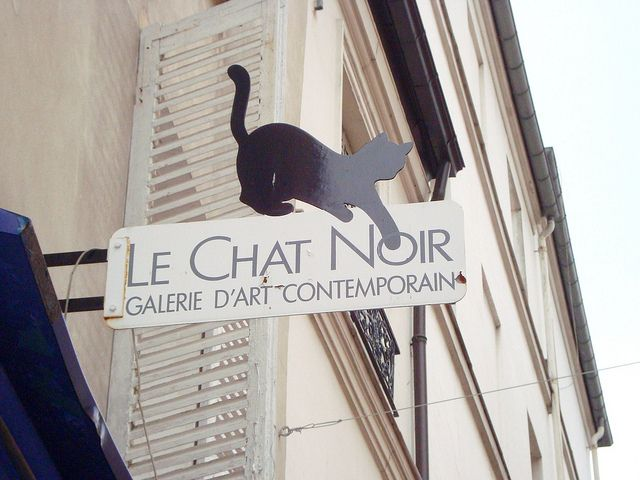 French Madame French Mademoiselle In Paris Day 8 Paris Black Cat Le Chat Noir