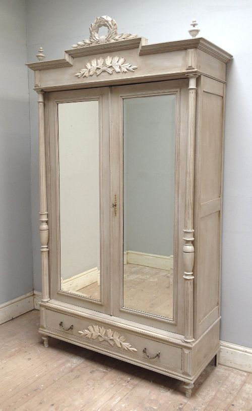 IF3739 FRENCH ANTIQUE HERNI II STYLE ARMOIRE | mueble pino ...