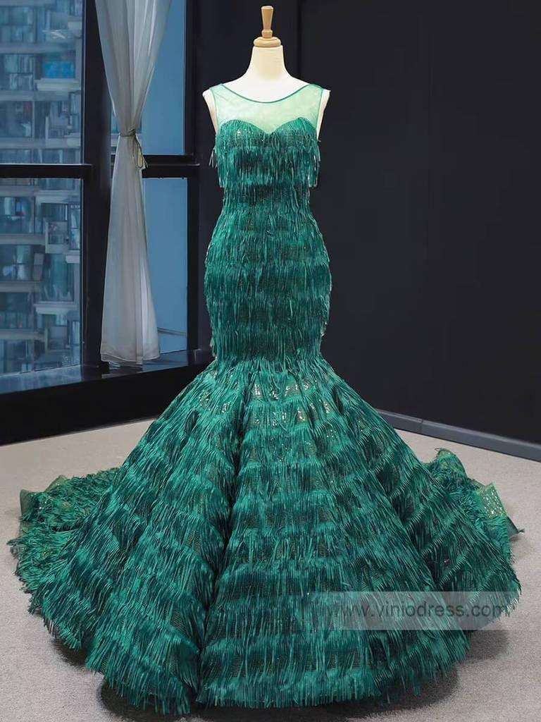 Vintage Emerald Green Mermaid Prom Dresses Trumpet Dress Fd1391 Viniodress Mermaid Prom Dresses Trumpet Dress Prom Dresses [ 1024 x 768 Pixel ]
