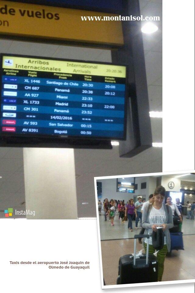 Los Turistas viajan seguros en los Taxis de Montañisol !