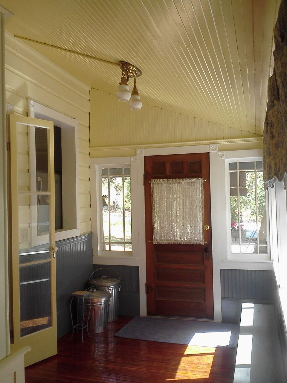 We recently finished a remodel of our Front Hall/Mud Room. The floor ...