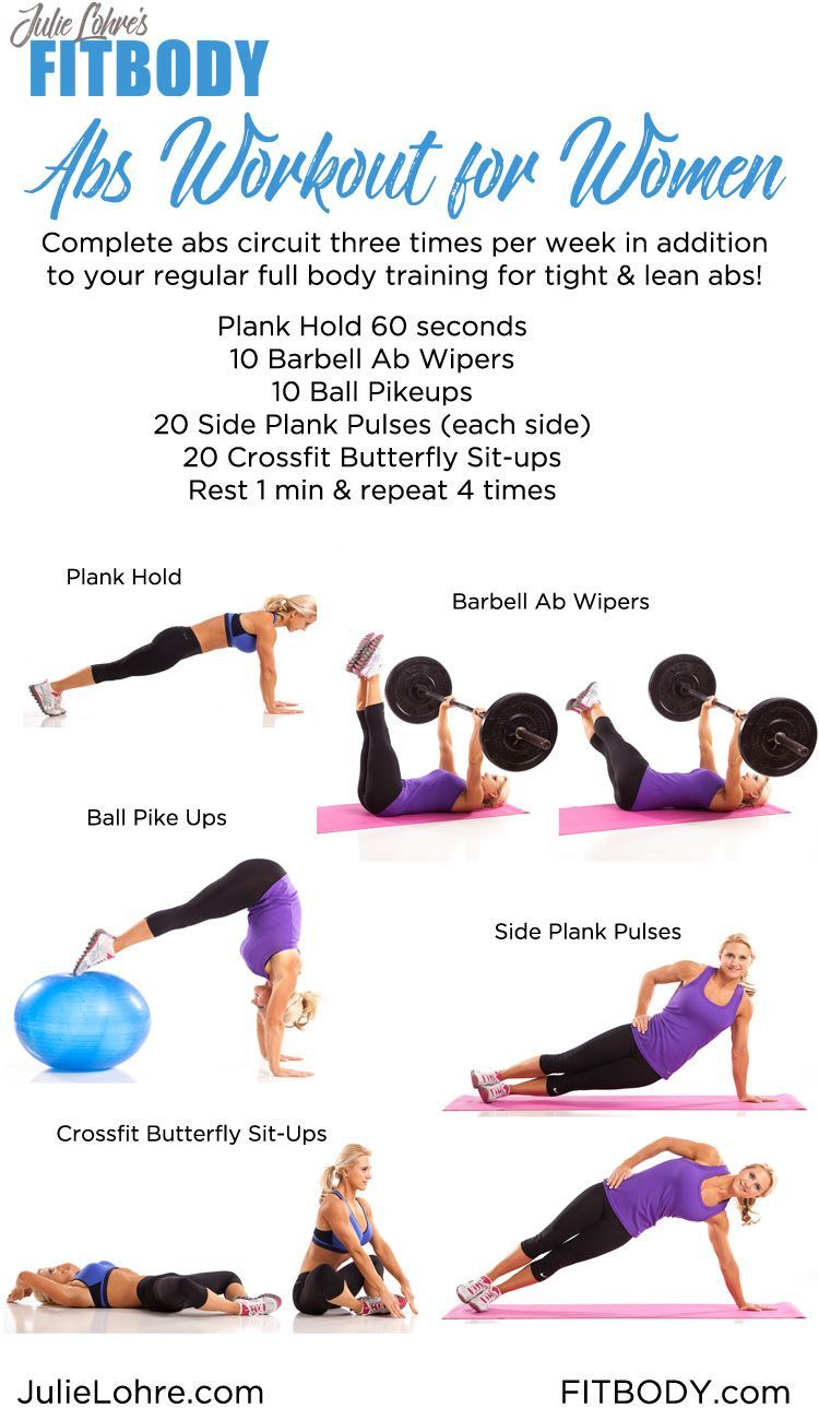 Abs Workout For Women - Best Ab Exercises For A Defined -1050