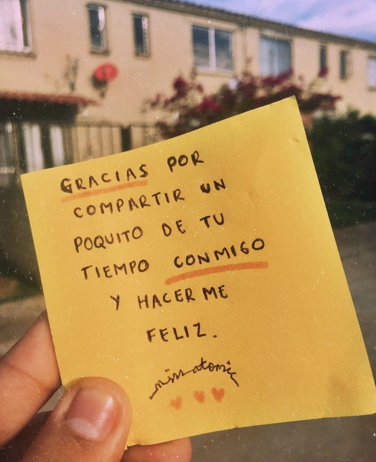 Gracias Por Todo Amooooor Frases De Amor Cartas De