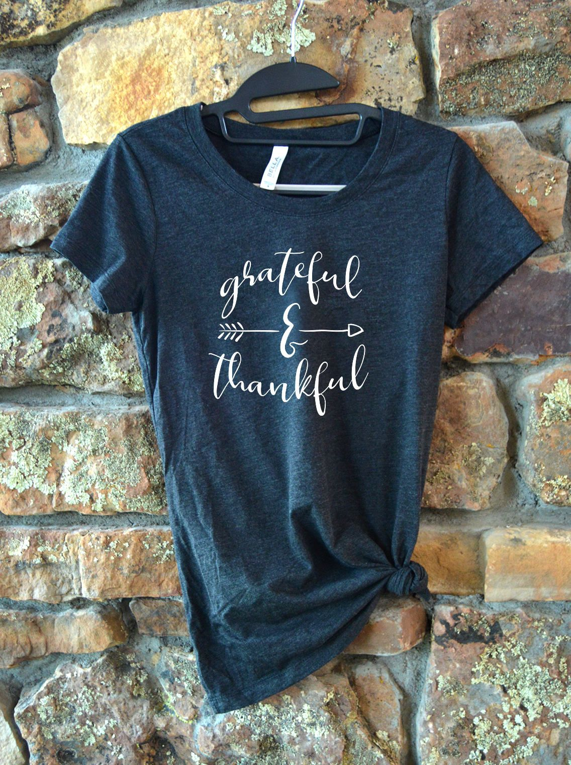 ba88fc144 Thankful Shirt - Fall Shirts - Thanksgiving Shirt - Ladies Fall Shirt - Womens  Fall Shirts - Shirts With Sayings - Casual Tees - Tshirts by  CimarronDesigns ...
