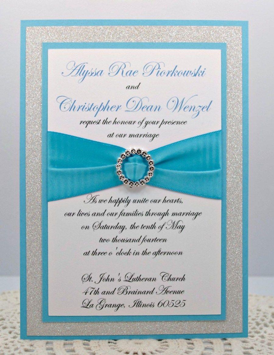 24 Elegant Photo Of Teal Wedding Invitations Kits