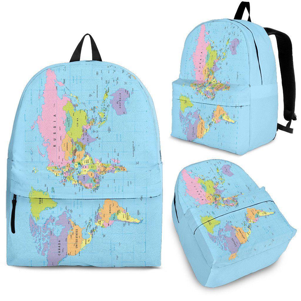 Geography Globe Backpack
