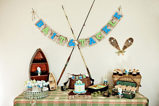 Superior Fish Party Ideas | Ericu0027s 40th Birthday Party | Pinterest | Vintage Fishing,  Fish And Fish Themed Parties