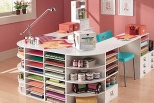 Mail john madden outlook craft room atelier salle rangement - Salon des travaux manuels ...