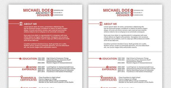 Nice Resume Templates The 41 Best Resume Templates Ever  Awesome  Pinterest  Resume